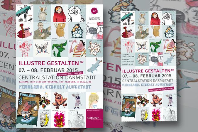 Printmedien für die diesjährige Ausstellung